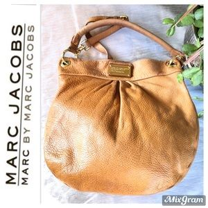 MARC BY MARC JACOBS Camel Tone Leather Tote